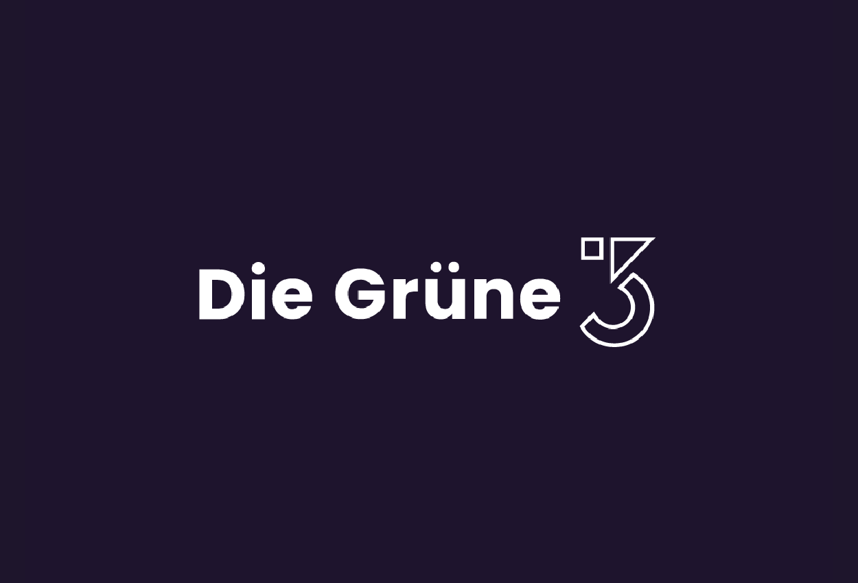 DieGruene3_Logo_BrandDesign_LukasLiniany